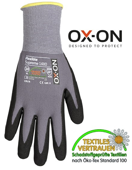 Flexible Supreme 1600 von OX-ON® | Gr. 6 (XS) bis 12 (XXXL) | ab € 1,09